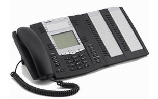 Aastra 6755i IP Phone incl. 536M uitbreidingsmodule
