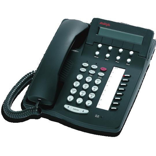 Avaya Lucent 6408D+ digitale telefoon grijs