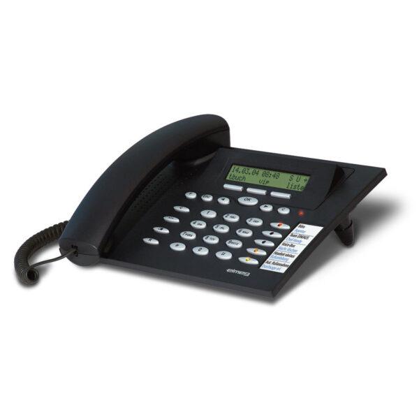 ELMEG CS290 CS 290 ISDN-telefoon zwart