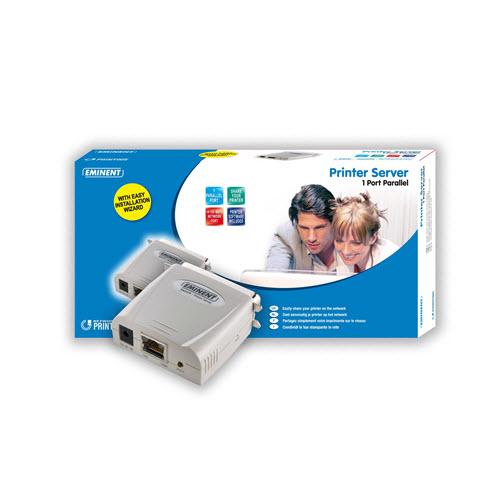 Eminent EM4470 Printer Server 1 Poorts Parallel