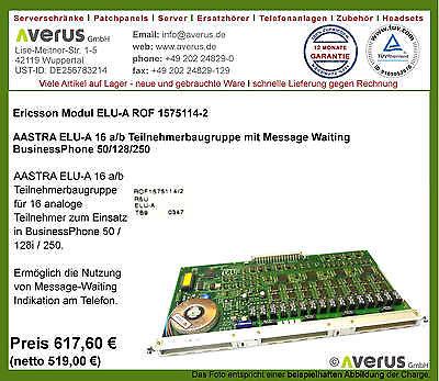 Ericsson ELU-A8 module ROF 1575114-3 voor BP 2