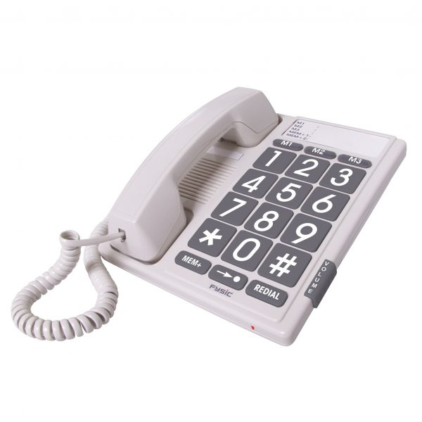 Fysic FX-3100 – Big Button telefoon – Wit