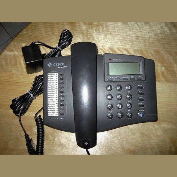 GESKO Ikarus 1200 telefoon zwart