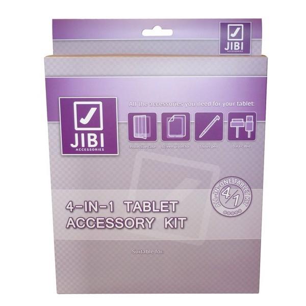 JIBI 4-IN-1 TABLET ACCESSORY KIT SAMSUNG GALAXY TAB3 10.1 3