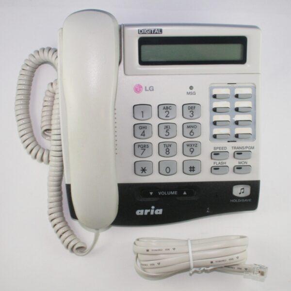LG Aria LKD 8DS LDK-8DS systeemtoestel wit