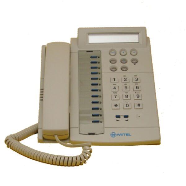 Mitel Millennium M410 digitale telefoon licht grijs