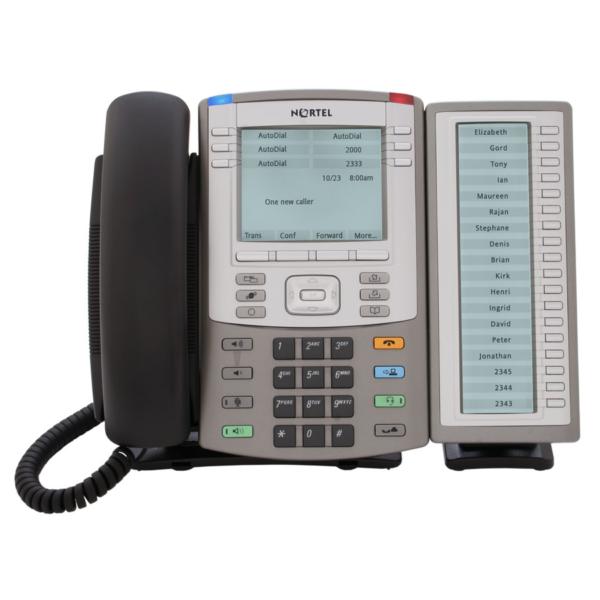 Nortel Avaya IP1140e IP Phone inclusief keymodule