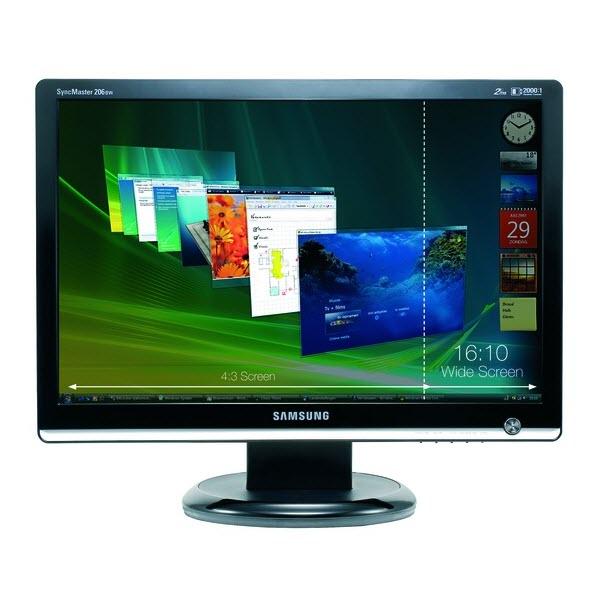 Samsung Syncmaster 206BW lcd monitor