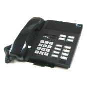 Tadiran Coral DST Digital Standard Telephone 12-Button zwart
