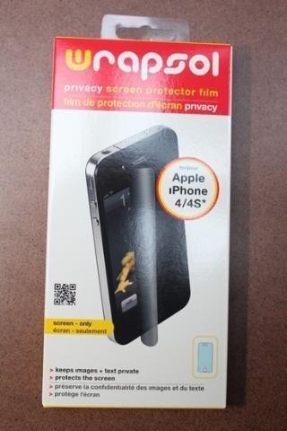 Wrapsol PPHAP004SOEF Screen Protector voor iPhone 4