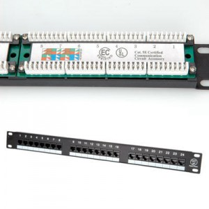 Patchpanels & Cable bars