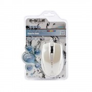 E-Blue Dynamic Color Pal EMS102WH White Ergonomic Mouse