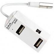 E-Blue Dynamic Purity White 4-ports mini USB hub EHB036WH 2