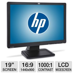 HP LE1901w 19 inch Widescreen LCD Monitor