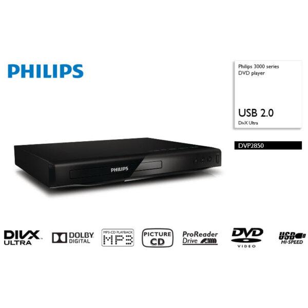 PHILIPS DVP2850 DVD-speler
