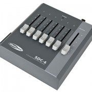 Showtec SDC-6 6-kanaals DMX-controller