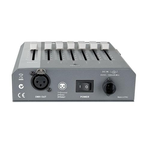 Showtec SDC-6 6-kanaals DMX-controller 2