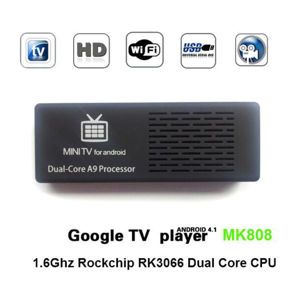 Smart TV Box Android Mini PC Stick Mini TV Dongle (MK808) 2