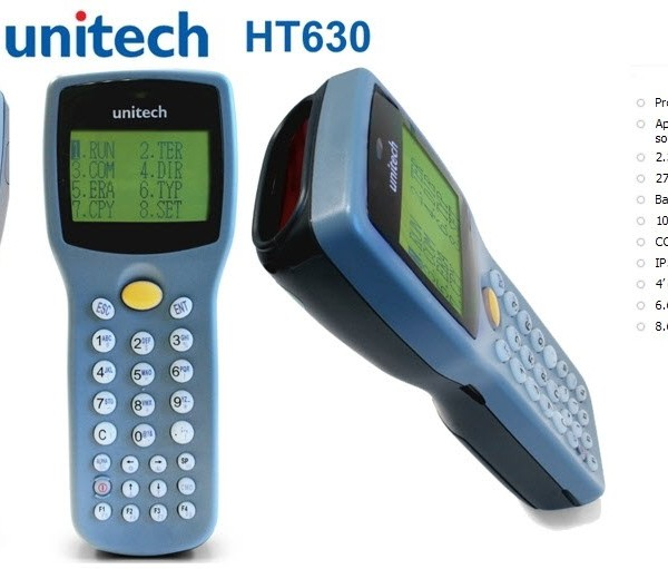 Unitech HT630 Compacte draagbare Data Terminal 3