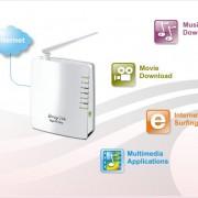 Vigor 2710ne ADSL2+ modem router 2