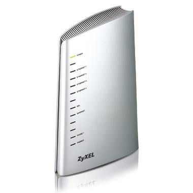 ZyXEL P-2602H-D1A Wireless ADSL2+ VoIP IAD over POTS
