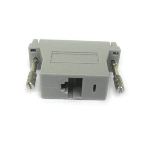 ADB0025 RJ45 Female to DB25 Male Crossover Adapter 2