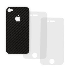 APR carbon sticker type APRPR50535 zwart voor Iphone 4