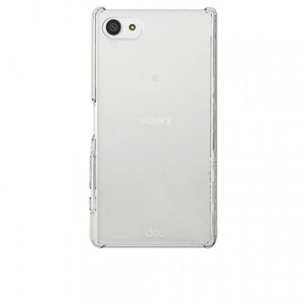 Case-Mate Barely There Cover voor Sony Xperia Z5 Compact transparant 2