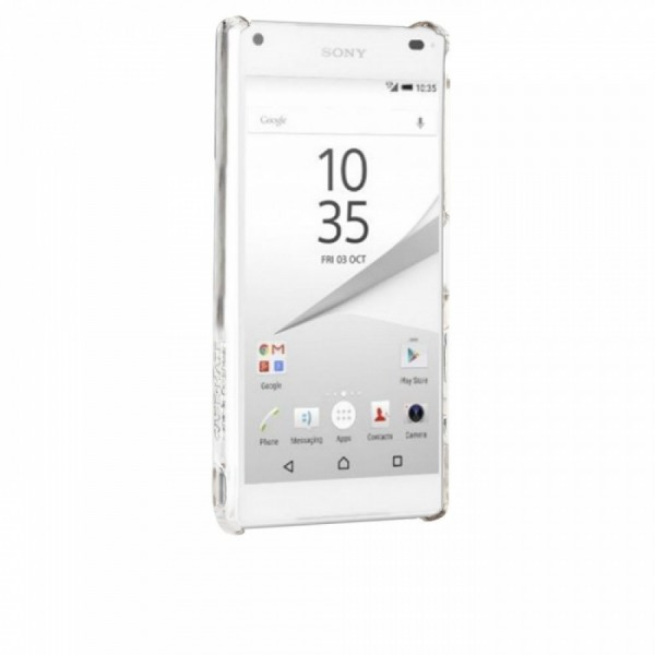 Case-Mate Barely There Cover voor Sony Xperia Z5 Compact transparant 3