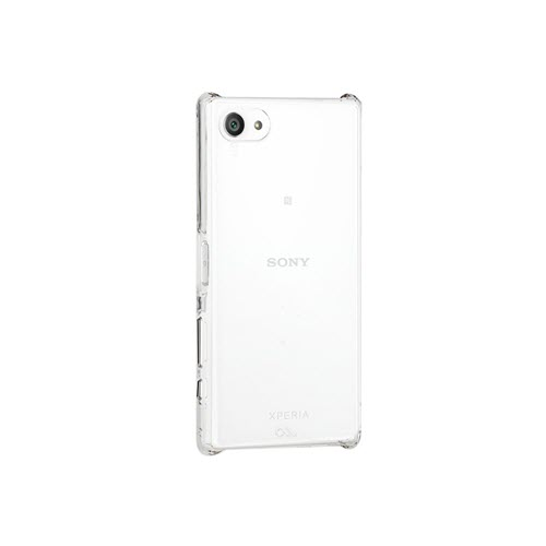 Case-Mate Barely There Cover voor Sony Xperia Z5 Compact transparant