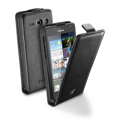 Cellular Line Huawei Ascend Y530 flap Essential zwart