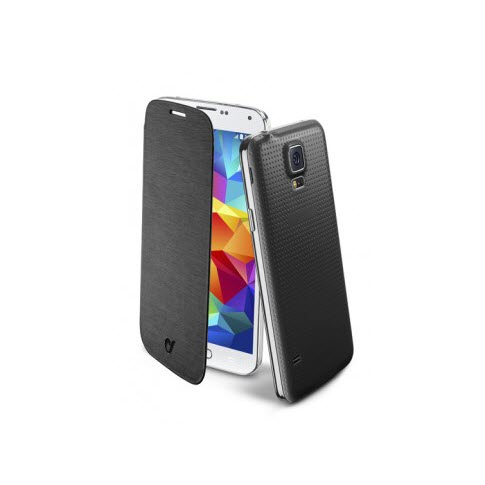 Cellular Line Samsung Galaxy S5 flip book zwart 2