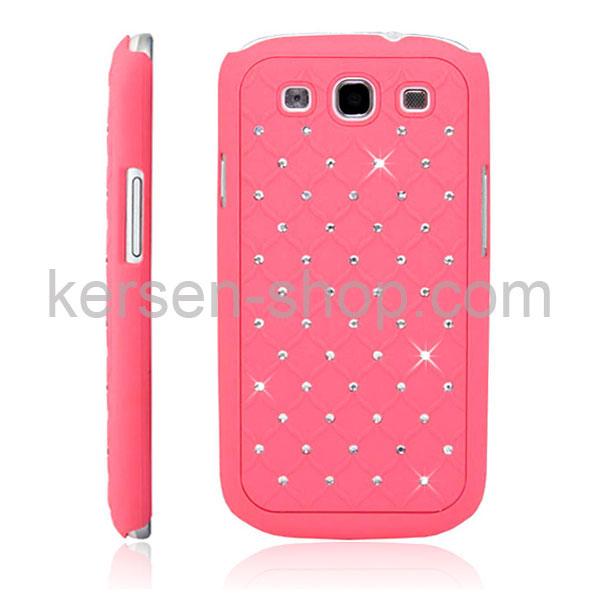 Diamond Mozaïek Case voor de Samsung Galaxy S3 pink
