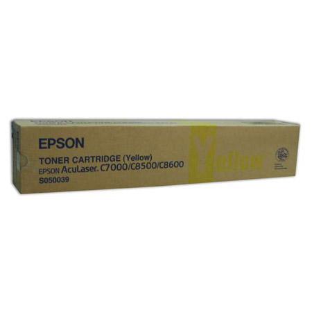 Epson S050039 toner geel (origineel)