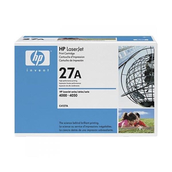HP 27A (C4127A EP-52) toner zwart (origineel HP) standaard