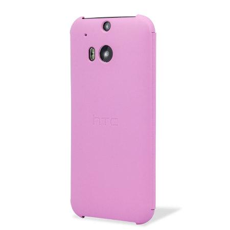 HTC One M8 Double Dip Flip Case HC V941 Roze 2