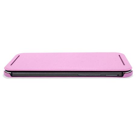 HTC One M8 Double Dip Flip Case HC V941 Roze 3