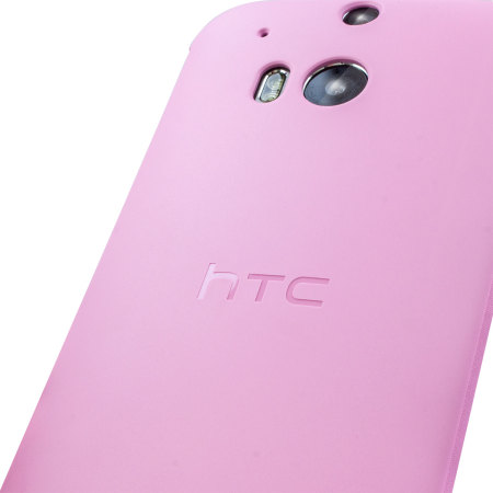 HTC One M8 Double Dip Flip Case HC V941 Roze 4