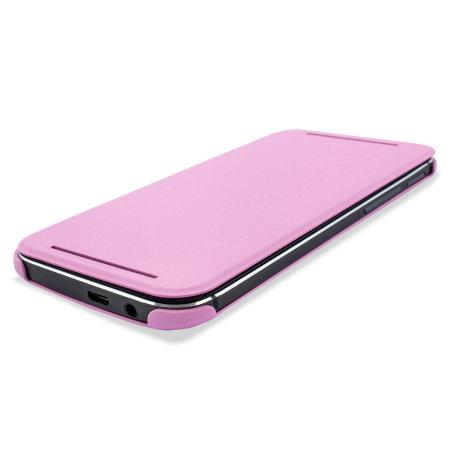 HTC One M8 Double Dip Flip Case HC V941 Roze 5