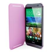 HTC One M8 Double Dip Flip Case HC V941 Roze 6