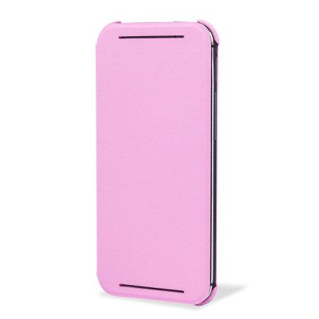 HTC One M8 Double Dip Flip Case HC V941 Roze