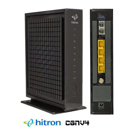 Hitron CGNV4 Cable Modem Wireless Router