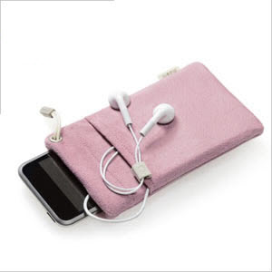 Moshi iPouch video case for iPod pink