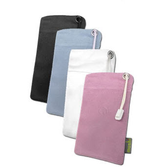 Moshi nanoPouch Designed voor iPod Nano Touch rose wit blauw