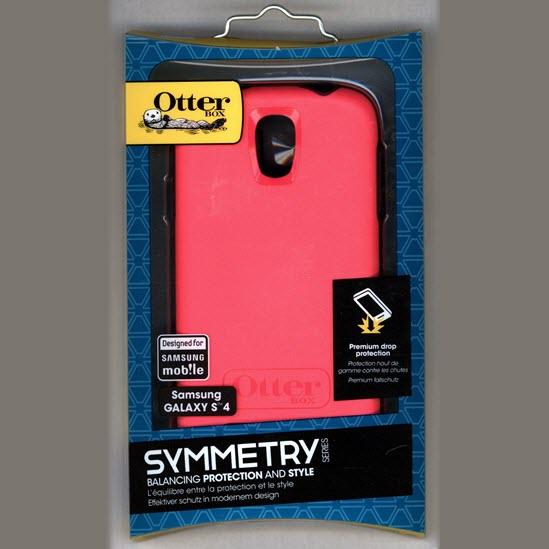 OtterBox Symmetry Case voor Samsung Galaxy S4 roze 3