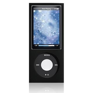Puro iPad Nano 5 Silicon case black