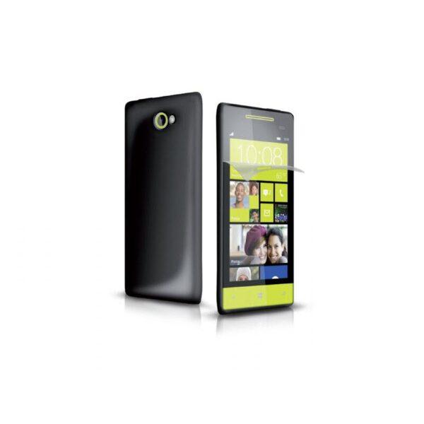 SBS Aero case for HTC 8S black met screenprotector