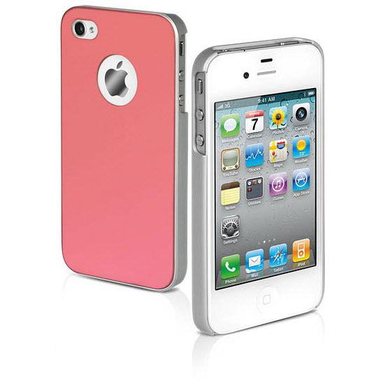 SBS Rigid case Satijn voor iPhone 4 4s roze