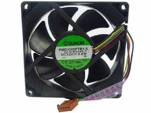 SUNON PMD1209PTB1-A Server – Square Fan. DC 12V 5.6W