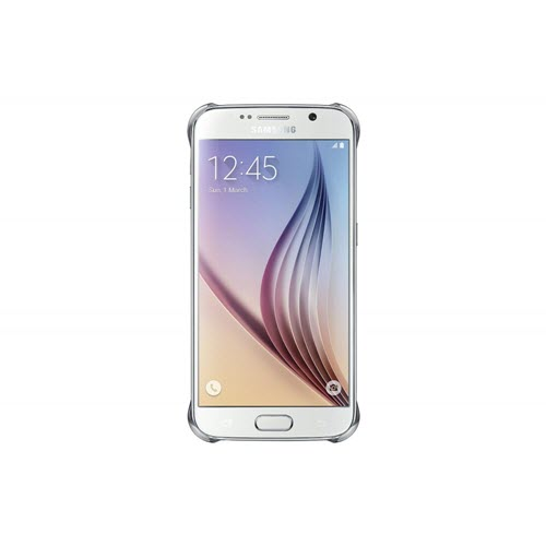 Samsung Clear Cover Samsung Galaxy S6 Edge Zilver 3